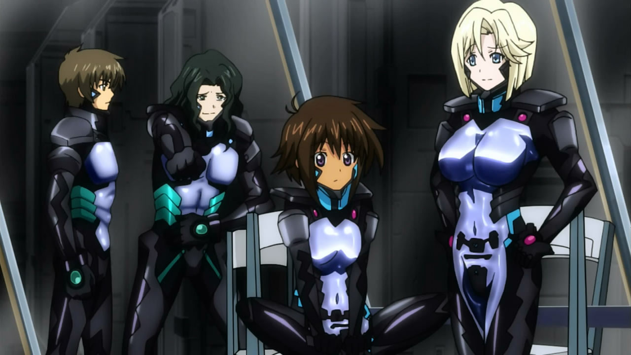 Which mecha pilots have the best and worst 'flight suits
