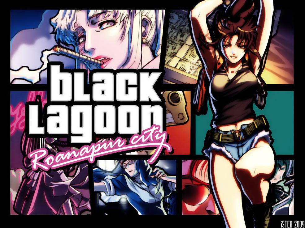 Animepaper Wallpaper Standard Anime Black Lagoon Roanapur City