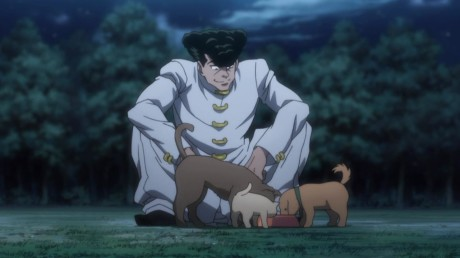 hunter-x-hunter-knuckle-hanging-with-his-dogs