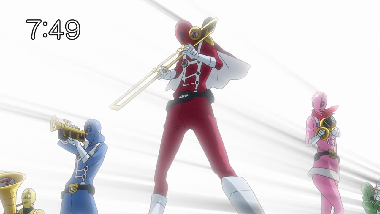 Sekirei Big Boobs Ele samurai flamenco episode 5 – we are the trombone heroes