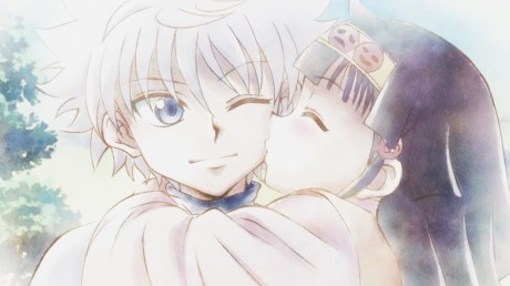 hunter-x-hunter-killua-alluka-kiss