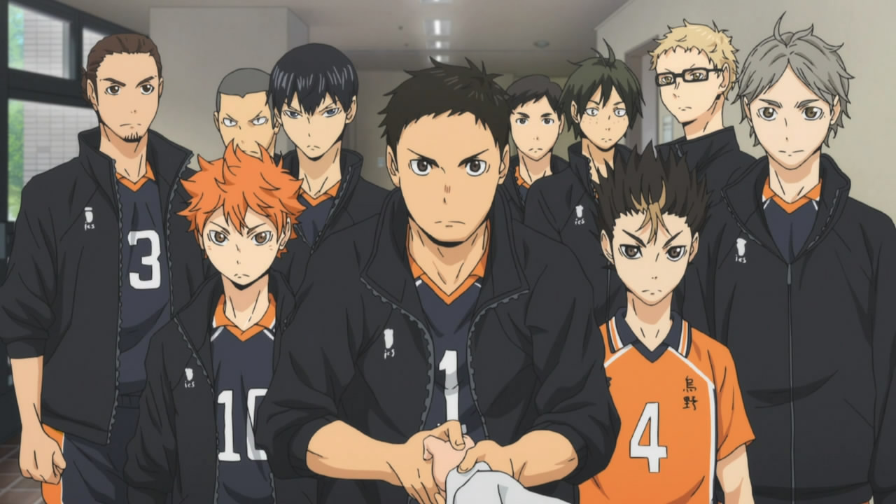 Ranking the Haikyuu volleyball team